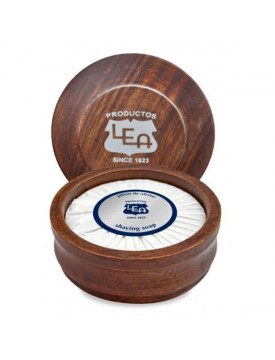 SAVON LEA - LEA CLASSIC SHAVING SOAP IN WOODEN BOWL 100 ML